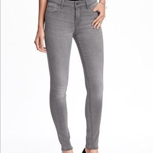 Rockstar Old Navy Jeans 4 Gray